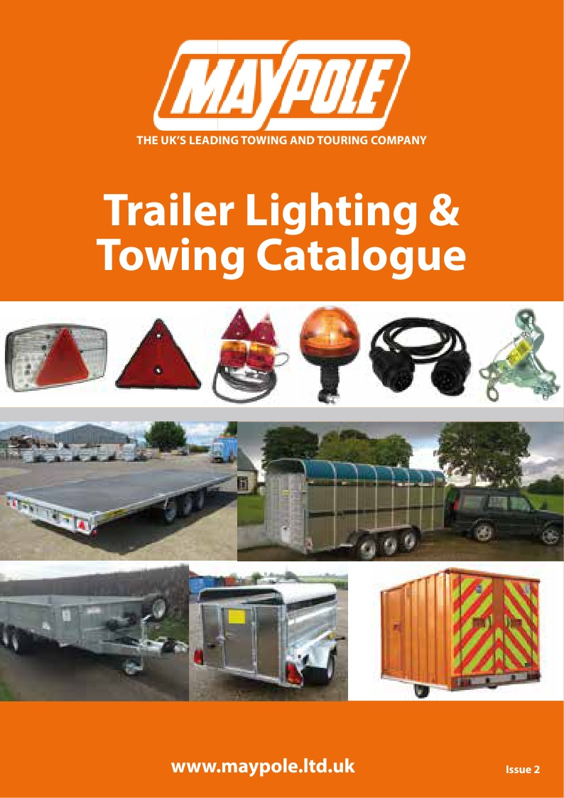 Trailer lighting & towing catalogue