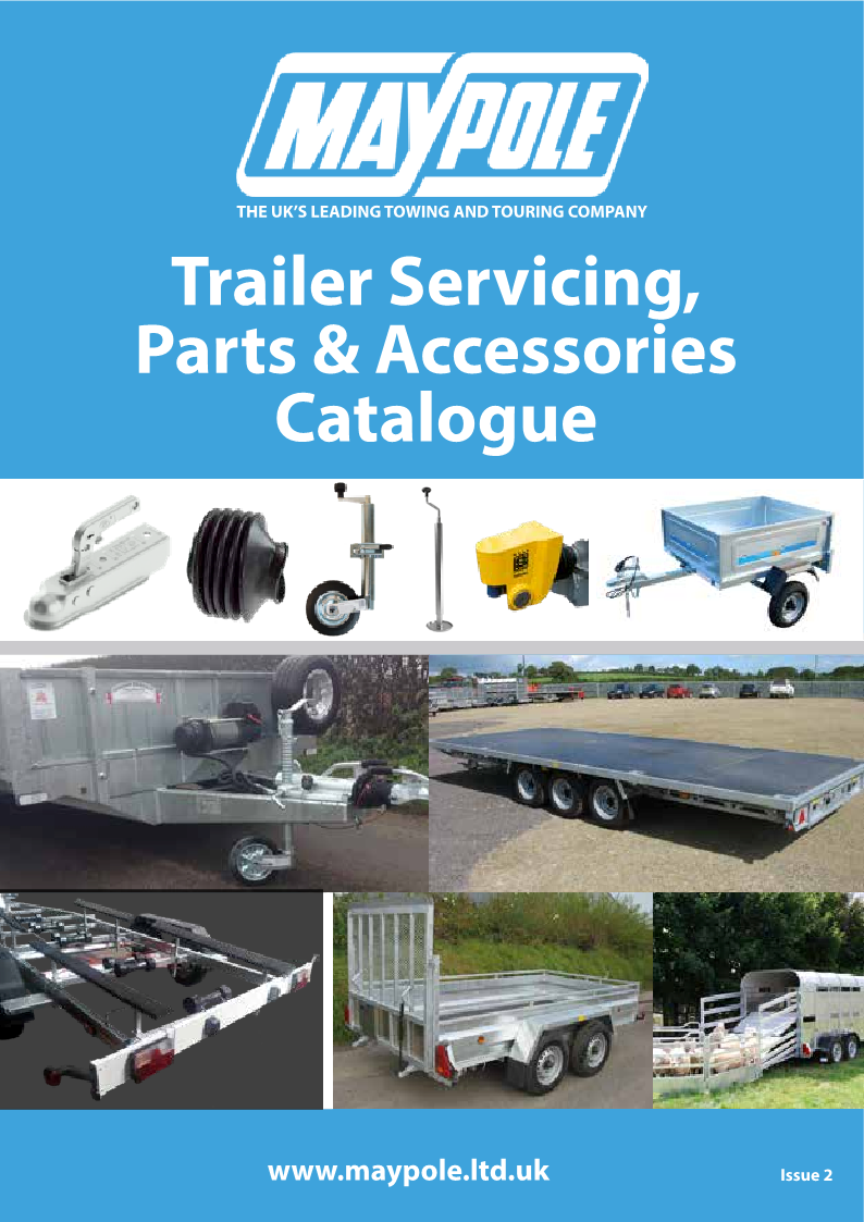 Trailer servicing, parts & accessories catalogue