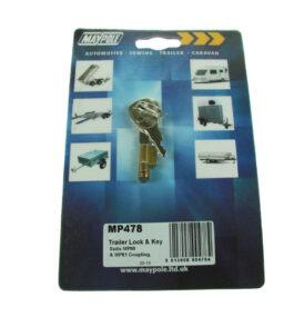 478 integral lock and key set