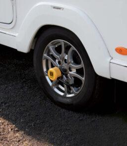 5432 caravan wheel lock