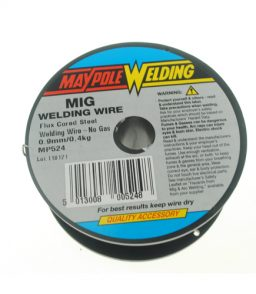 MP524 0.9mm Flux Corded Wire 0.4Kg Spool