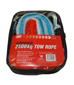 MP609 2500Kg Elasticated Tow Rope