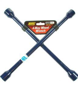 MP7618 Blue 4 Way Wheel Wrench