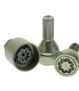 7664 locking wheel bolts