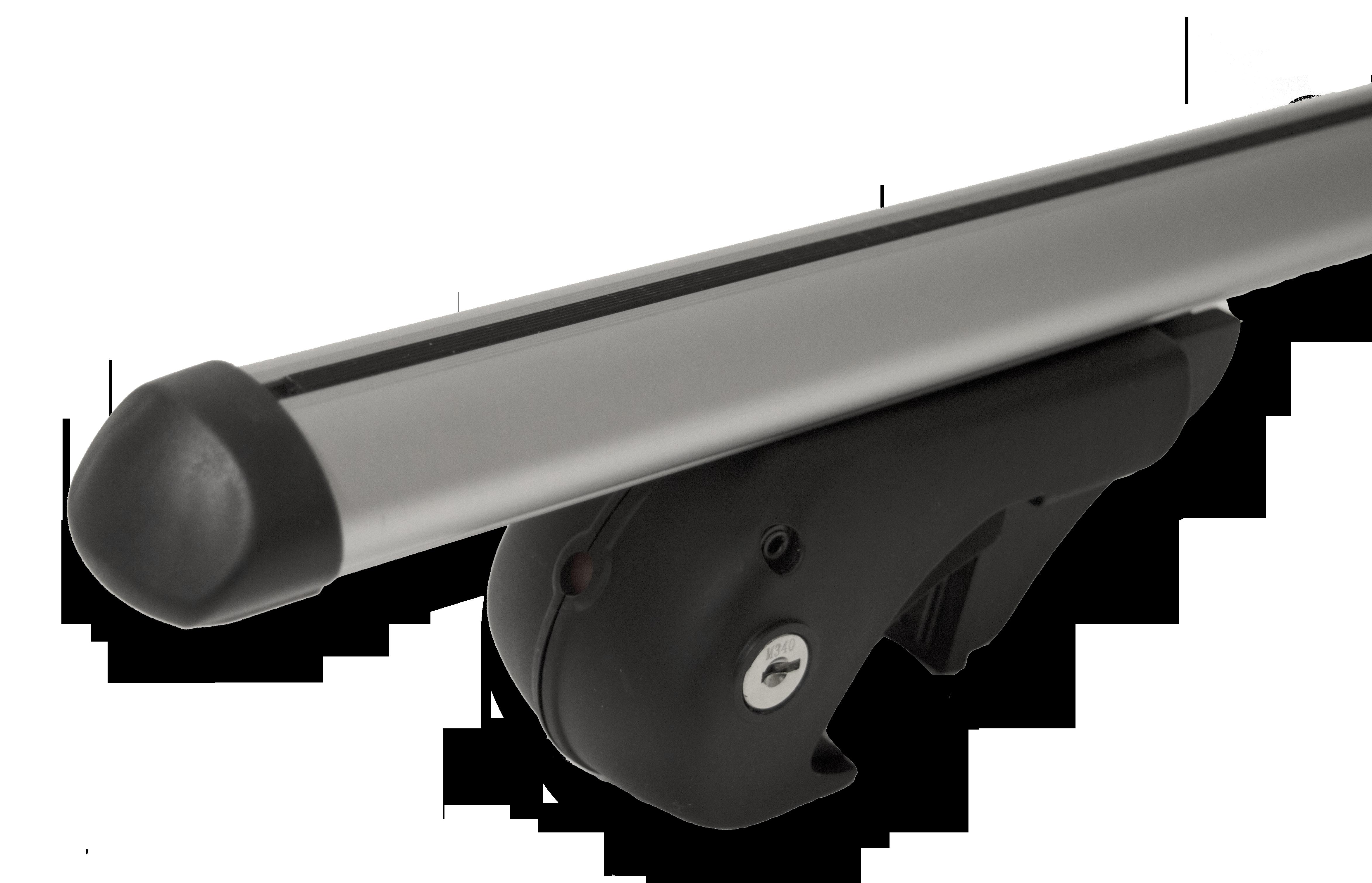 Maypole RB1040 Eagle Universal Aluminium Roof Bars 1.2M for Raised Roof Rails