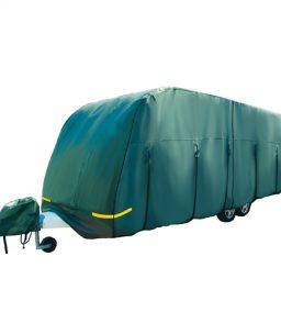 Premium Green 4-Ply Caravan Cover