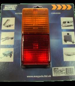 MP10 Maypole Rectangular Combination Lamp Display Packed
