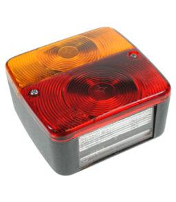 MP17B Radex Square Bulb Combination Lamp