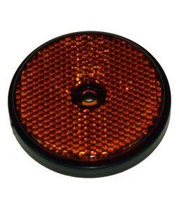 MP155B Radex Round Amber Reflector