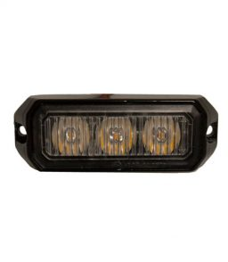 MP4110B 12/24V 9W Amber LED Strobe R10/IP65