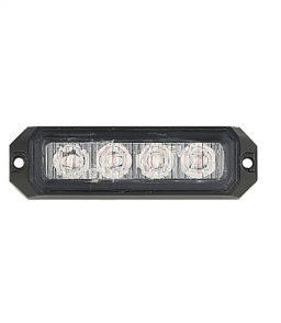 MP4111B 12/24V 12W Amber LED Strobe R65/R10/IP65