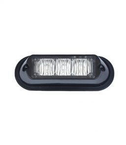 MP4112B 12/24V 9W Amber LED Strobe R65/R10/IP65