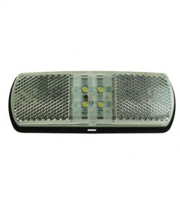 MP8142B Perei 9-33V LED Clear Front Marker Lamp