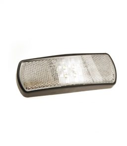 MP8162B LED White Front Marker With Integrated Superseal