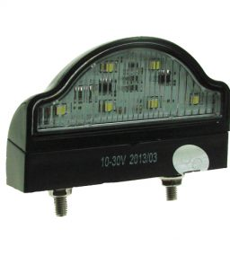 8227b led number plate lamp
