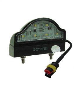 8227bsp number plate lamp