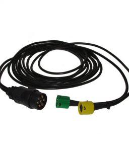 MP83106 AJBA 7 Pin Plug & 2 x 5 Pin 6m Main Harness