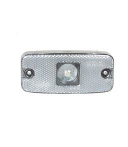 MP8576B WAS 10-30V Clear LED Front Marker Lamp