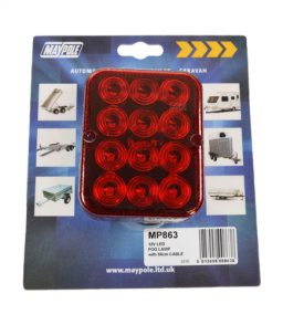 863 led fog lamp