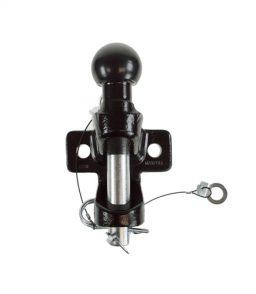 MP87 50mm Ball & Pin Hitch Black