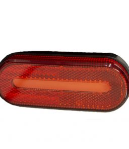 1683b led red front marker lamp
