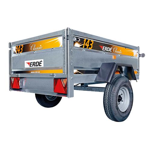 69143 Erde 143 trailer