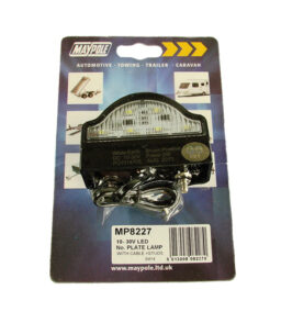 8227 led number plate lamp