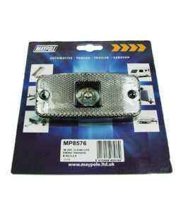MP8576 WAS 10-30V Clear LED Front Marker Lamp Display Packed