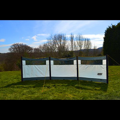 3 Panel Inflatable Windbreak