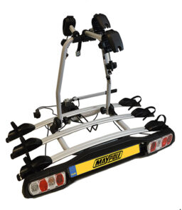 3 Bike Towball Mounted Cycle Carrier