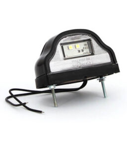 led number plate lamp
