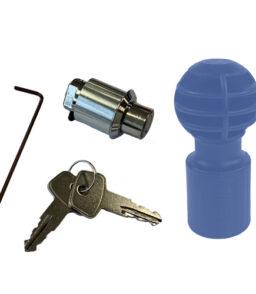 MP2019L Replacement Barrel Lock Set & Plastic Security Ball