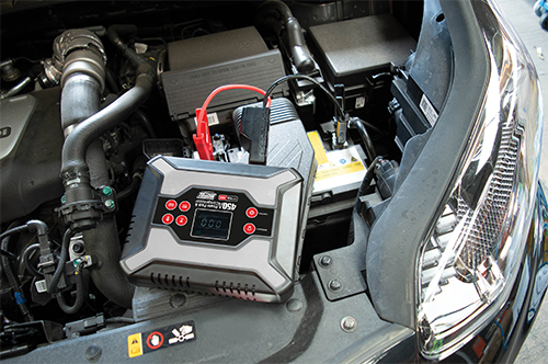 MP7436 450A Lithium Ion Power Pack with Built In Compressor - Jump Start